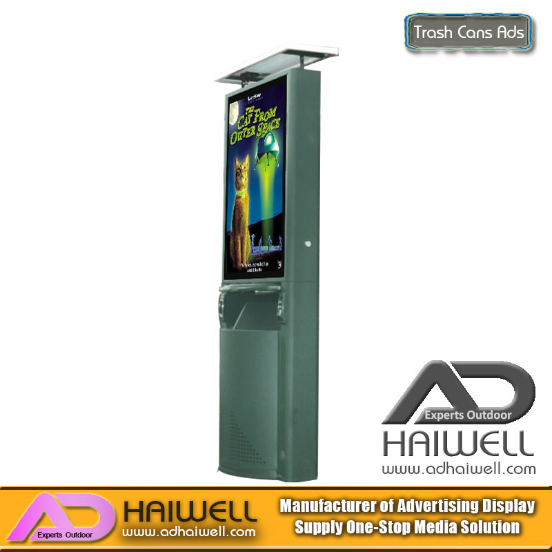 China Manufacturer Dustbin Ads Light Box Wholesale - Adhaiwell
