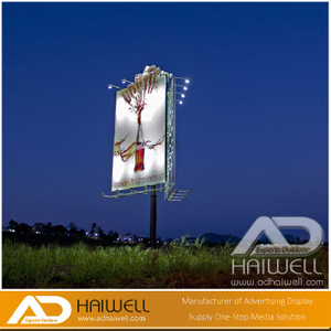 Solar Powered System Advertising Display Screen