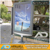 Modern Cities Design Scrolling LED Light Box Advertising Signs