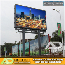 Outdoor Digital DIP LED Module Advertising Display Billboard Structure