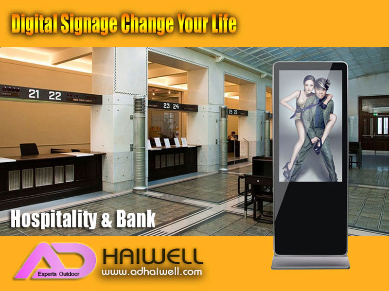 digital-lcd-signage-Applications-Hospitality-or-Bank