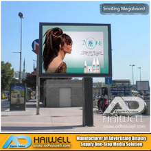 Digital Scrolling Light Box Billboard
