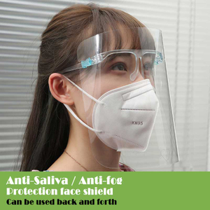 Face Shield PET Cover & Goggles Premier Face Protector