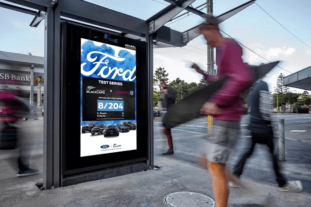 Outdoor led advertising display