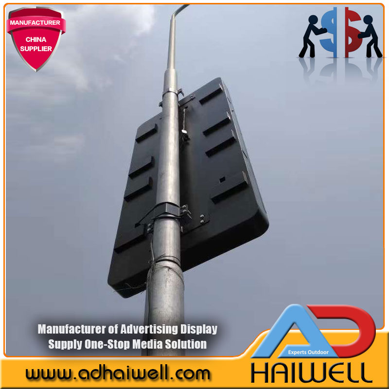 Outdoor City New Smart & Digital Street Furniture Pole Led Display