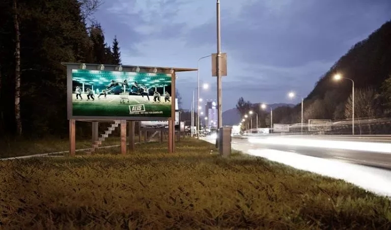 Outdoor house Billboard(2)