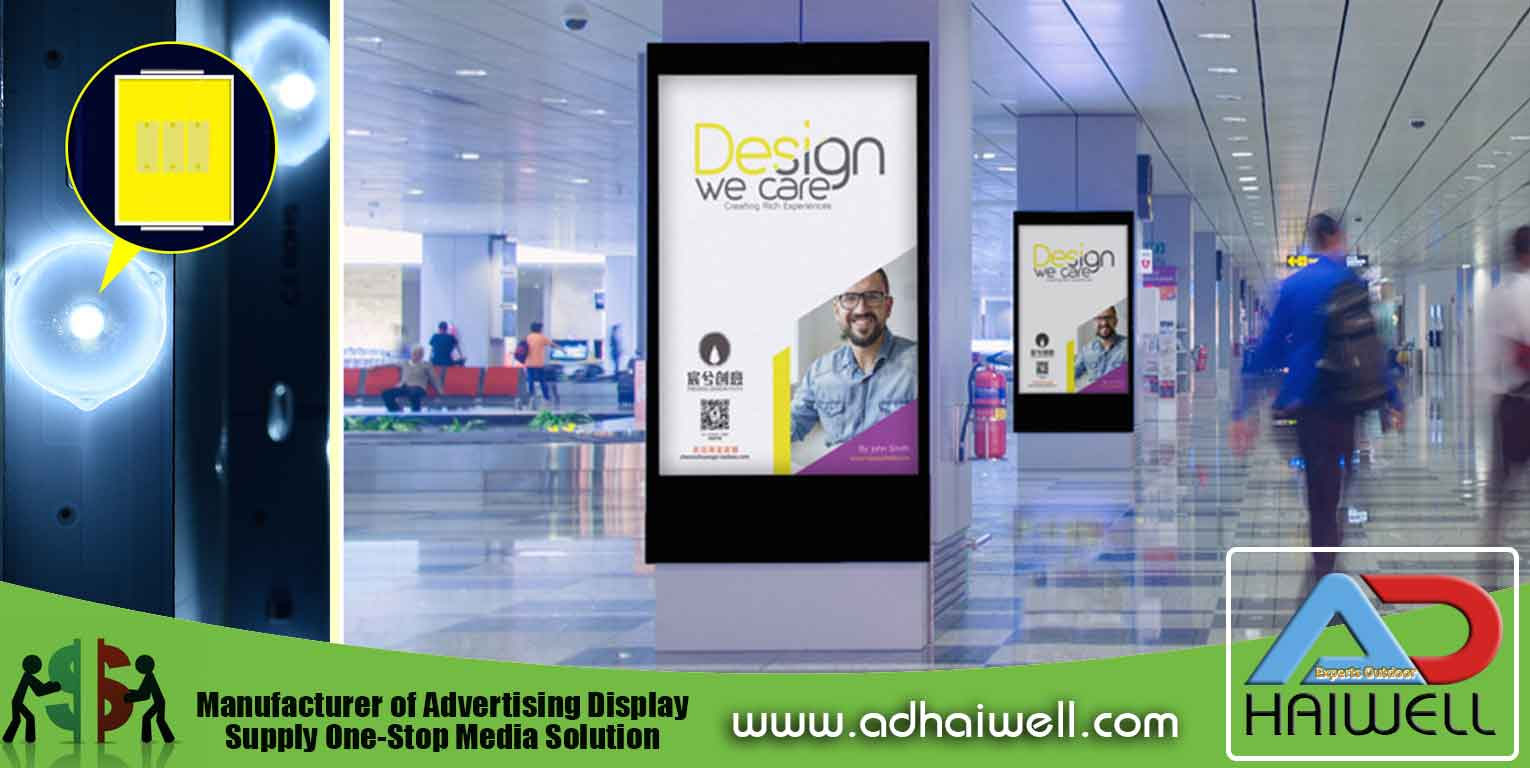 LED Backlighting Advertising Light Box